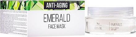 Regenerierende, festigende und feuchtigkeitsspendende Anti-Aging Gesichtsmaske mit Smaragd - Hristina Cosmetics SM Crystal Emerald Anti-Aging Face Mask — Bild N1