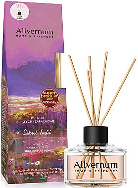 Raumerfrischer Secret Of India - Allvernum Home & Essences The Secret Of India Diffuser Fragrance Sticks — Bild N1