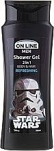 """Düfte, Parfümerie und Kosmetik Shampoo & Duschgel 2in1""""Star Wars"""" - On Line Star Wars Refreshing"""