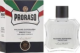 Düfte, Parfümerie und Kosmetik After Shave Balsam mit Aloe Vera und Vitamin E - Proraso Blue Line After Shave Balm Super Formula