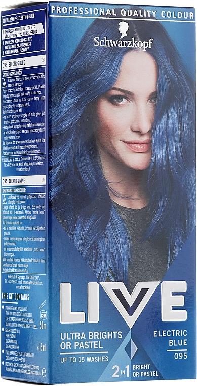 Semi-permanente ammoniakfreie Haarfarbe - Schwarzkopf Live Ultra Brights or Pastel