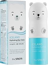 Düfte, Parfümerie und Kosmetik Feuchtigkeitsstick mit Gletscherwasser für die Augenpartie - The Saem Iceland Hydrating Eye Stick