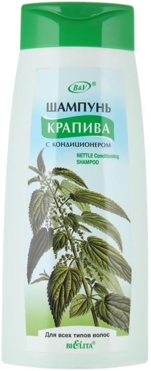 Shampoo und Conditioner mit Brennnessel - Bielita Shampoo — Bild N1