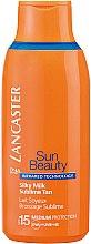 Düfte, Parfümerie und Kosmetik Leichte Bräunungsmilch SPF 15 - Lancaster Sun Beauty Silky Milk Sublime Tan SPF 15