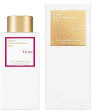 Düfte, Parfümerie und Kosmetik Maison Francis Kurkdjian A La Rose - Körpercreme