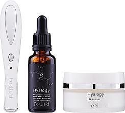 Düfte, Parfümerie und Kosmetik Zestaw - Forlle'd Smart Face Care (f/cr/50g + f/ser/30ml + beauty device/1pc)