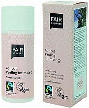 Düfte, Parfümerie und Kosmetik Mechanisches Peeling für den Intimbereich mit Aprikosenkernöl - Fair Squared Apricot Peeling Intimate