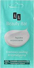 Düfte, Parfümerie und Kosmetik Reinigendes Gesichtspeeling mit Enzymen - AA Beauty Bar Face Scrub Gentle Cleansing
