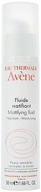 Feuchtigkeitsspendendes mattierendes Gesichtsfluid - Avene Soins Essentiels Scin Care — Bild N2
