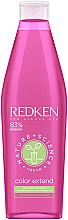 Düfte, Parfümerie und Kosmetik Pflegeshampoo für coloriertes und gesträhntes Haar mit Ginseng-Extrakt - Redken Nature + Science Color Extend Shampoo
