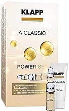 Düfte, Parfümerie und Kosmetik Klapp A Classic Power Set - Gesichtspflegeset mit Vitamin A (Gesichtskonzentrat 3x2ml + Gesichtscreme 3ml)