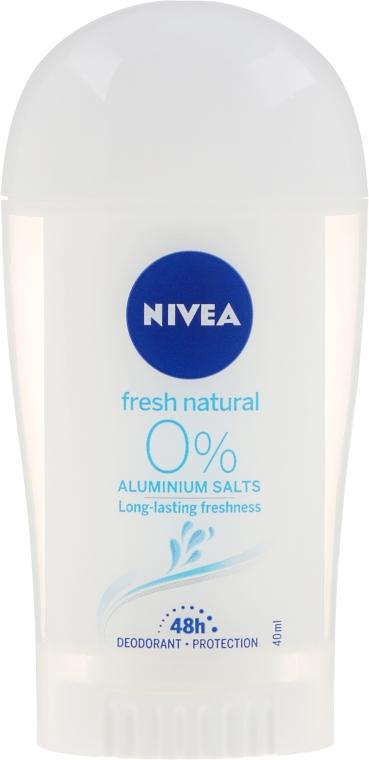 Deostick Antitranspirant - Nivea fresh natural deodorant stick — Bild N1