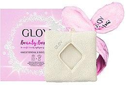 Düfte, Parfümerie und Kosmetik Make-up Entfernungsset - Glov Spa Beauty Bomb Set (Make-up Entfernungshandschuh und Haarband)