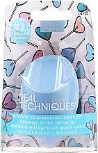 Schminkschwamm hellblau - Real Techniques Miracle Complexion Sponge For Foundation & BB Cream 04158 — Bild N1