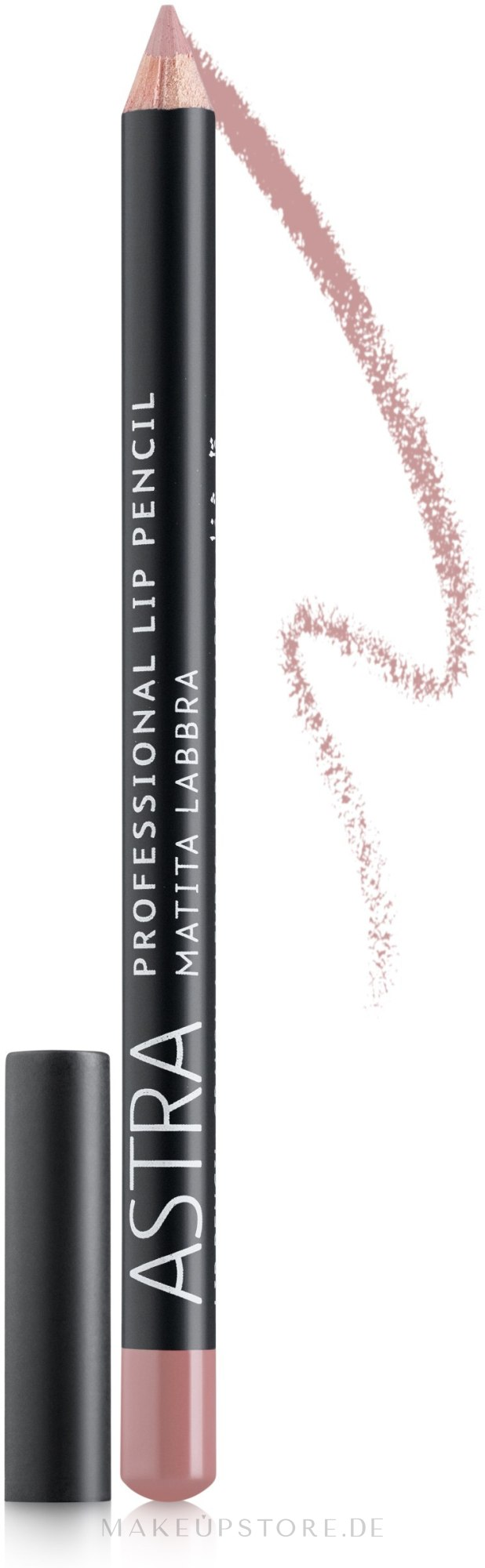 Lippenkonturenstift - Astra Make-Up Professional Lip Pencil — Bild 33 - Pink Lips