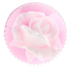 "Düfte, Parfümerie und Kosmetik Glycerinseife ""Rose Valley Rose Blossom"" rosa - Bulgarian Rose Glycerin Soap Valley Rose Blossom"