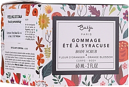 Düfte, Parfümerie und Kosmetik Entspannendes Körperpeeling mit Bitterorangenblüten - Baija Ete A Syracuse Body Scrub
