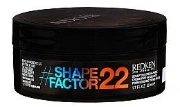 Formgebende Creme-Paste für das Haar - Redken Flex Shape Factor 22 Sculpting Cream Paste — Bild N2