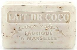 Düfte, Parfümerie und Kosmetik Handgemachte Naturseife Kokosmilch - Foufour Savonnette Marseillaise