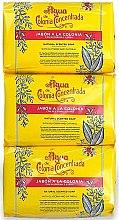 Düfte, Parfümerie und Kosmetik Alvarez Gomez Agua De Colonia Concentrada - Handpflegeset (Seife 3x 125g)