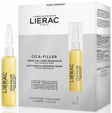 Anti-Falten Serum - Lierac Cica-Filler Anti-Wrinkle Repairing Serum — Bild N1