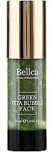 Düfte, Parfümerie und Kosmetik Gel-Gesichtsmaske mit Extrakt aus grünem Tee - Bellca Green Vita Bubble Pack
