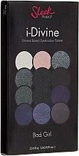 Düfte, Parfümerie und Kosmetik Lidschattenpalette - Sleek MakeUP i-Divine Mineral Based Eyeshadow Palette Bad Girl