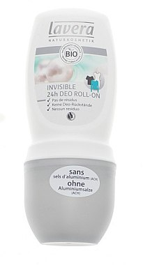Deo Roll-on Invisible - Lavera Invisible 24h Deo Roll-On — Bild N1