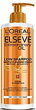 Düfte, Parfümerie und Kosmetik Cremiges Shampoo und Conditioner für trockenes Haar - L'Oreal Paris Elseve Low Shampoo