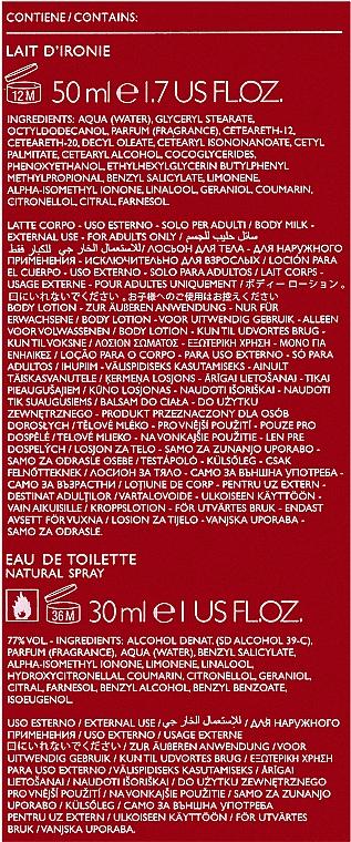 Moschino Cheap and Chic - Duftset (Eau de Toilette/30ml + Körperlotion/50ml) — Bild N3