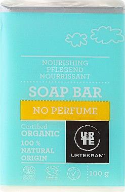 Bio Seife mit Palmöl und Glyzerin ohne Duftstoffe - Urtekram No Perfume Soap Bar — Bild N1