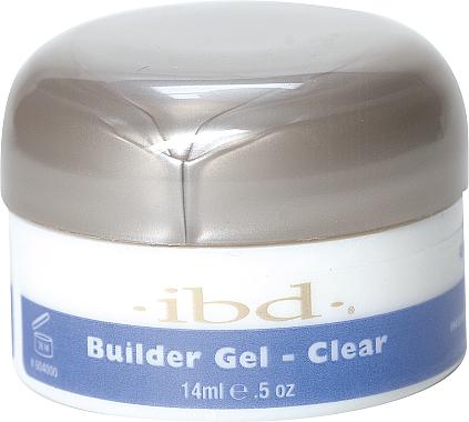 Aufbau-Gel für natürlich schöne glänzende Nägel - IBD Clear Builder Gel — Bild N1