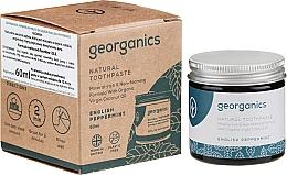 Düfte, Parfümerie und Kosmetik Natürliche Zahnpasta mit englischem Pfefferminzgeschmack - Georganics English Peppermint Natural Toothpaste