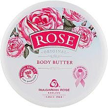 Düfte, Parfümerie und Kosmetik Körperbutter mit Rosenöl - Bulgarian Rose Rose Body Butter