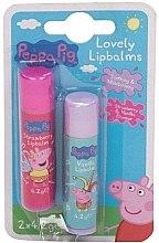 Düfte, Parfümerie und Kosmetik Gesichtspflegeset - Kokomo Peppa Pig (Lippenbalsam 2x 4.2g)