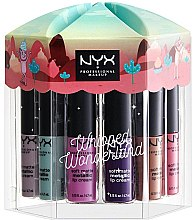 Lippenstift Set - Nyx Professional Makeup Whipped Wonderland Soft Matte Metallic Lip Cream Set — Bild N1
