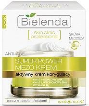 Düfte, Parfümerie und Kosmetik Aktive Korrekturcreme für Tag und Nacht - Bielenda Skin Clinic Professional Mezo Anti-age