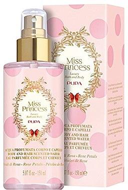Pupa Miss Princess Body and Hair Scented Water Rose Petals - Eau de Parfum — Bild N1