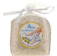 Düfte, Parfümerie und Kosmetik Pflegendes Fußbadesalz mit Senfextrakt - Aqua Amber Sea Salt Foot