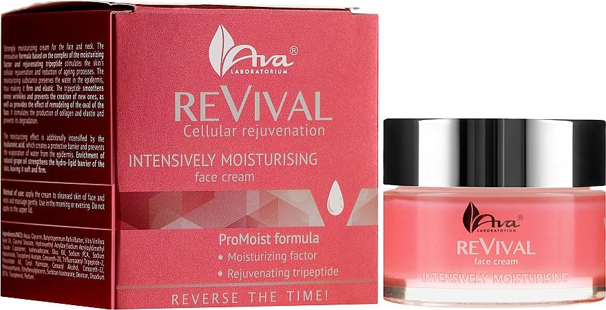 Intensiv feuchtigkeitsspendende Gesichtscreme mit Tripeptiden - Ava Laboratorium Revival — Bild N1