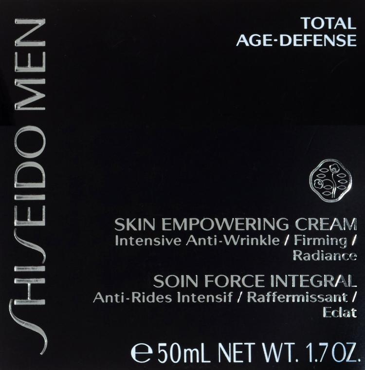 Regenerierende Gesichtscreme - Shiseido Men Skin Empowering Cream — Bild N3