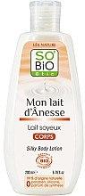 Düfte, Parfümerie und Kosmetik Leichte Körperlotion mit Eselsmilch - So'Bio Etic Silky Body Lotion