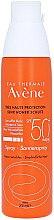 Düfte, Parfümerie und Kosmetik Wasserfestes Sonnenspray für empindliche Haut SPF 50 - Avene Eau Thermale Sun Very High Protection Spray SPF50