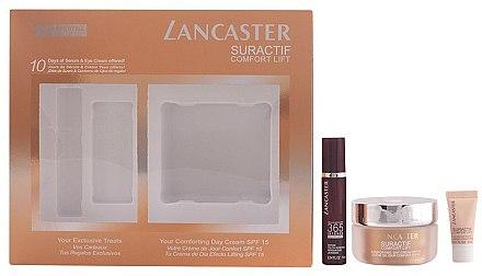 Gesichtspflegeset - Lancaster Suractif Comfort Lift Set (Augencreme 3ml + Serum 10ml + Tagescreme 50ml) — Bild N1