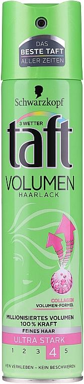 Volumen-Haarlack für feines Haar mit Kollagen Ultra starker Halt - Schwarzkopf Taft Volume Hairspray