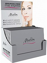 Düfte, Parfümerie und Kosmetik Mattierende Pudertücher für das Gesicht 4 St.+ 1 - Marion Mat Express