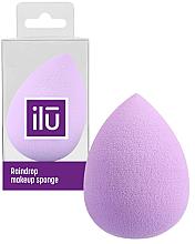 Düfte, Parfümerie und Kosmetik Schminkschwamm violett - Ilu Sponge Raindrop Purple