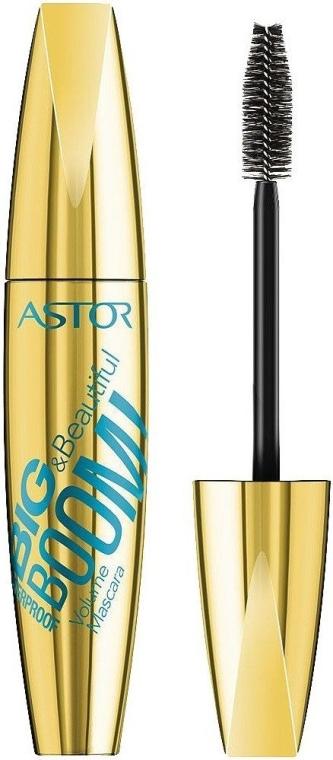 Wasserfeste Mascara für voluminöse Wimpern - Astor Big & Beautiful Boom Volume Mascara Waterproof — Bild N1