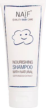 Pflegendes Babyshampoo mit natürlichem Baumwollsamenextrakt - Naif Baby Nourishing Shampoo — Bild N1