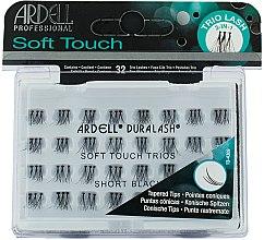 Düfte, Parfümerie und Kosmetik Wimpernbüschel-Set - Ardell Professional Duralash Individual Soft Touch Trios Short Black